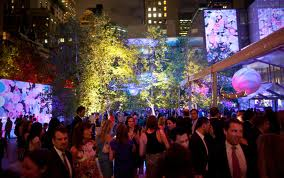 Party in the Garden at MOMA
